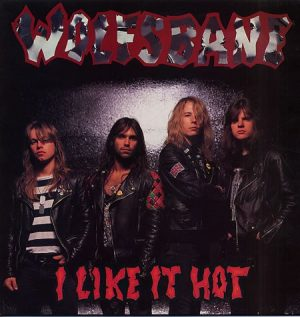 "WOLFSBANE: I like it hot 12"" incl. 2 unreleased live songs. ex- Iron Maiden singer. Check video."