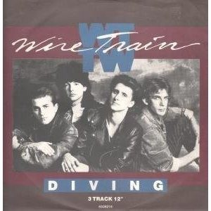 "Wire Train: Diving 12"" The Alarm, Bangles, Waterboys. Super rock / pop tunes to die for."