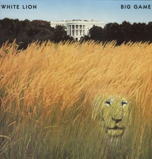 WHITE LION: Big Game LP PROMO. Brilliant Hard Rock incl. Golden Earring cover. Check videos!!