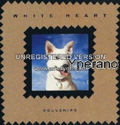 WHITE HEART: Souvenirs LP. A best of sorts. s.