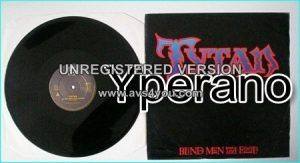 "TYTAN: Blind Men and Fools. RARE 12"" check audio + video!! NWOBHM. HIGHLY RECOMMENDED!"