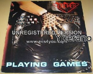 """TOGETHER: Playing Games 12"""". Masterful old school Dutch Metal! Buy with confidence!"""