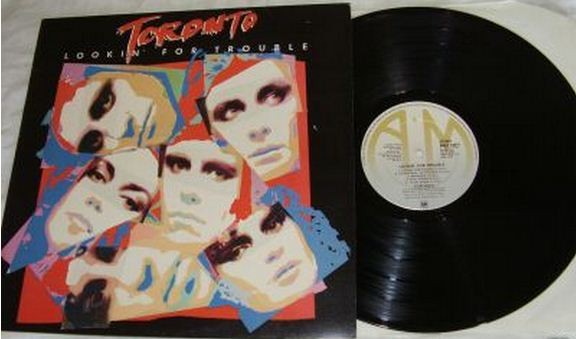 TORONTO: Lookin' For Trouble LP PROMO. US edition. A la Heart, Pat Benatar. s.