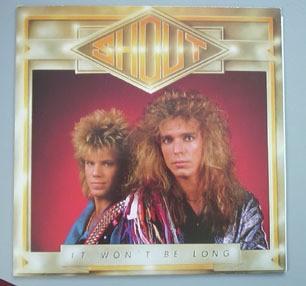 SHOUT: It won't be long LP. us frontline 1988 WITH INSERT. s.