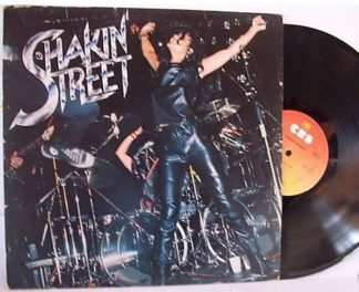 SHAKIN' STREET: s.t, debut, 1st LP PROMO. feat. Ross The Boss (before he joined Manowar)