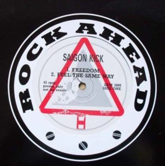 "SAIGON KICK: Promo only 12"". s. 4 songs."