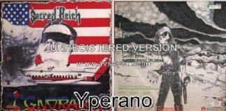 SACRED REICH: Ignorance LP + inner with lyrics & photo. Top Thrash! Check video + sample