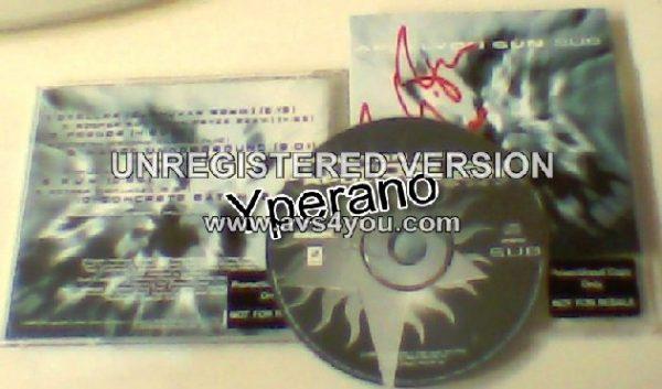 APOLLYON SUN: Sub CD PROMO + bonus track. Fully Signed / Autographed. Celtic Frost leader..