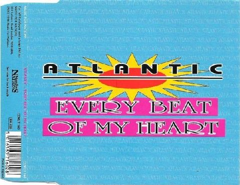 ATLANTIC: Every Beat of my Heart CD PROMO. rare. Very catchy AOR. Check video