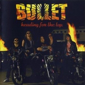 BULLET: Heading for the Top CD PROMO (cardboard not jewel case). Gods of Metal. Check video + all samples. HIGHLY RECOMMENDED
