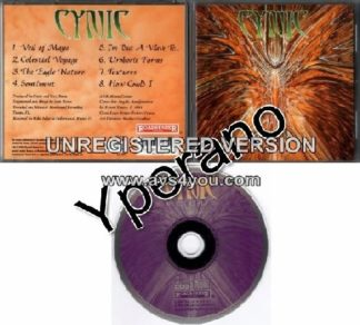 CYNIC: Focus CD. Roadrunner Records ORIGINAL 1st press 1993.