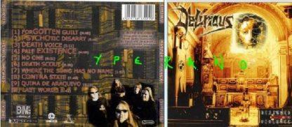 DELIRIOUS: Designed By Violence CD. Melodic Thrash Metal a la Testament.