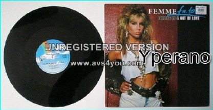 """FEMME FATALE: Falling In And Out Of Love 12"""" Sexy female singer, AC/DC cover """"Its A Long Way To The Top"""". Check video!"""