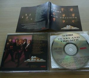 1st AVENUE: Tears And Triumph CD. Rare. Check 5 songs. A.O.R masterpiece!