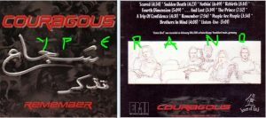 COURAGOUS: Remember CD. COURAGEOUS Remember CD. Modern Melodic Power/Thrash + great Depeche Mode Cover. Check all songs.
