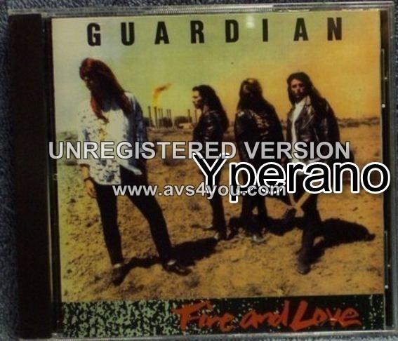 GUARDIAN Fire and Love CD 1990 Pakaderm ELEFANTE Rare. Christian A.O.R / Melodic Hard rock. + videos.