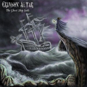 CRIMSON ALTAR: The Ghost Ship Sails CD Rare Limited quantity!! [Power, Melodic, Doom and Goth Metal]