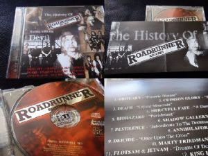 The History Of Roadrunner Records CD Promo- Mercyful Fate, Annihilator, Crimson Glory, s.