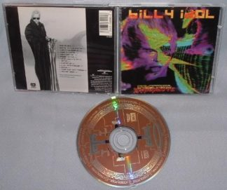 BILLY IDOL: Cyberpunk CD. + video. 2nd hand. Free £0 for orders of £99+