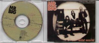MR. BIG: Wild World CD. 4 track UK + unreleased + live. Check video