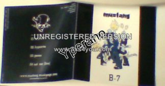 MUSTANG: B-7 CD. Modern Metal / Nu from Norway. Rare! Free £0 for orders of £25+