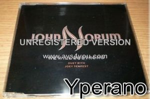 John NORUM: We will be strong CD. RARE!! Great duet with Europe vocalist Joey Tempest. + live 1987. Check video