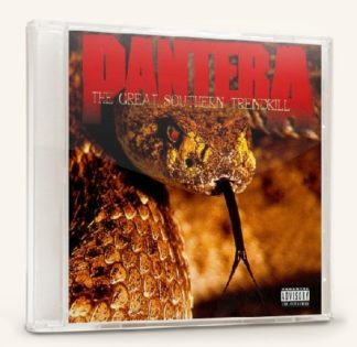 PANTERA: The Great Southern Trendkill CD. Check video + all samples