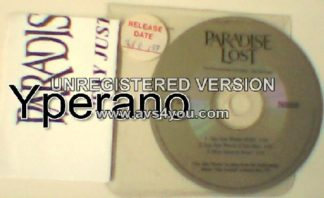PARADISE LOST: Say just words PROMO CD (Different tracks + cover) + press release. Check video. ULTRA RARE!
