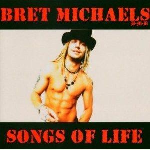 BRET MICHAELS: Songs for Life CD (SEALED). + 2 bonus tracks!! Poison singer. + videos