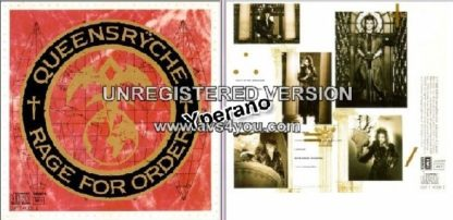 QUEENSRYCHE: Rage For Order CD original recording NOT the remastered Check video