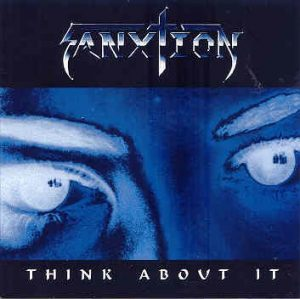 SANXTION Think about it CD. Barren Cross. Super Christian Metal. 1996 Independent, RARE