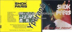 SHOK PARIS: Go For the Throat CD + 1 extra track. Check audio samples