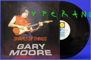 "GARY MOORE: Shapes Of Things 12"" UK. Great cover. Highly recommended."