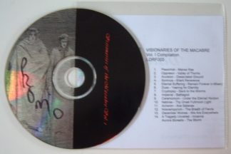 VISIONARIES OF MACABRE Vol. 1 -- 15 song Metal compilation CD FREE £0 For orders of £23+