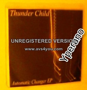 THUNDER CHILD: Automatic Charger PROMO demo CD