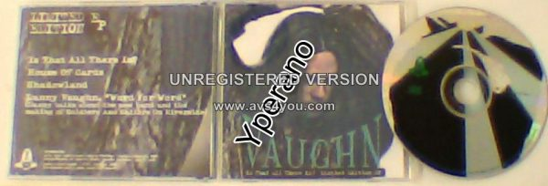 VAUGHN: Is that all there is? CD Limited Edition E.P. Waysted, Tyketto singer.