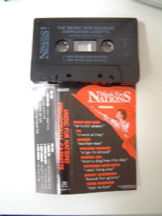 MUSIC FOR NATIONS: Promotional cassette 1991 RARE. ATHEIST, Fates Warning, FM, Mortal Sin, Nuclear Assault, ++..Check all videos