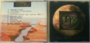 """UP (UNIFIED PAST): The 90's collection CD. Free if you order the """"From the Splintered Present Surfaces-"""" CD"""