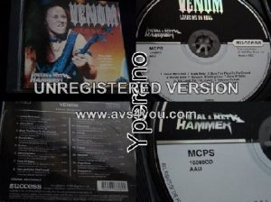 VENOM: Leave Me in Hell CD PROMO (16 songs)