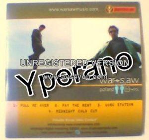 WARSAW: Poland bros Jagermeister CD PROMO (includes bonus video content). Ska. .