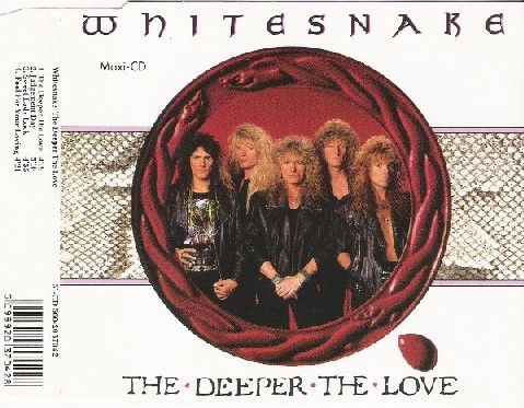 WHITESNAKE: The Deeper The Love CD. Check video