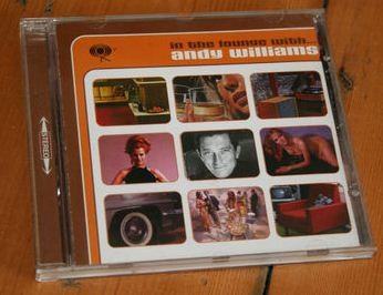 ANDY WILLIAMS: In the Lounge with- 2CD. 25 Hits! Music to Watch Girls By, Can't Take My Eyes off You etc. Check videos