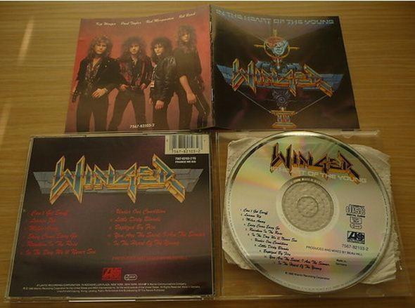 WINGER: In the heart of the young CD. Check videos!