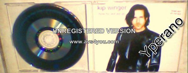 WINGER KIP: How far will we go? CD RARE. Check video