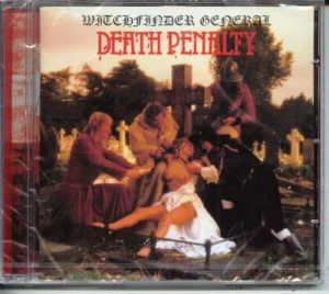 WITCHFINDER GENERAL: Death Penalty CD Heavy Metal Records. N.W.O.B.H.M.