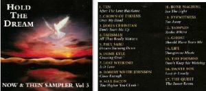 Hold the dream Now & Then Sampler Vol 3 CD. s. Crown of Thorns, James Christian, Talisman, Sabu, Jaime Kyle-