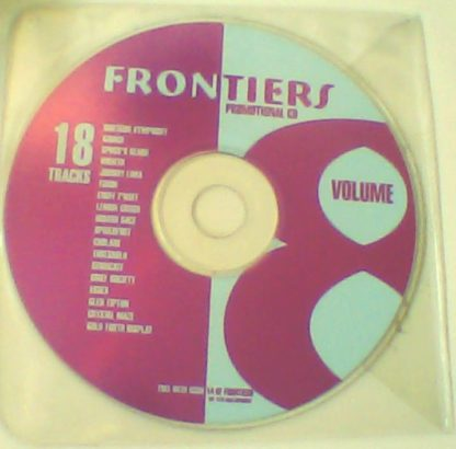 Frontiers magazine Promotional Sampler Volume 8 CD. Glen Tipton, Threshold, Savage, Spock's Beard,etc. Free for orders of £20