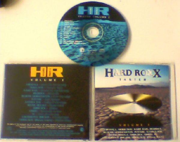 HARD ROXX TASTER Vol. 1 CD. Rudess, Intense, Gamma Ray, UFO + Magnum + Winger members.. s. Free for orders of £20