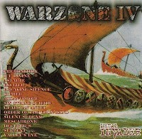Warzone IV (4) CD 1998 Compilation with Exciter, Valley's Eve, Astarte, Premonition etc.