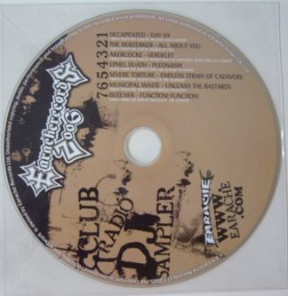 EARACHE Club Radio DJ sampler 2006 CD Free £0 for orders of £18+